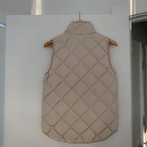 J. Crew Jackets & Coats - J.Crew Cream Vest